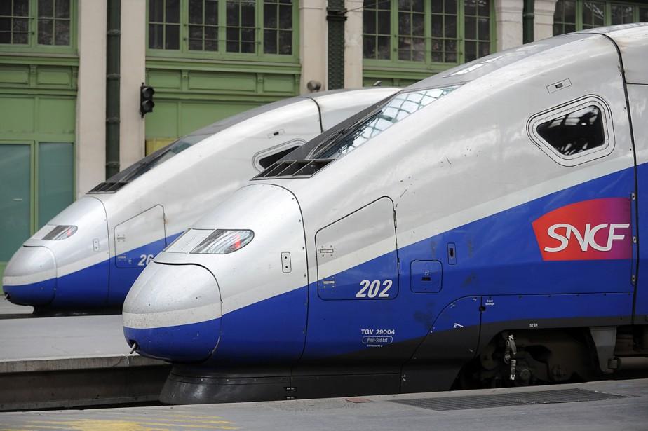 Le service deTGVfrançais devra relever plusieurs défis pour... (Photo archives Bloomberg)