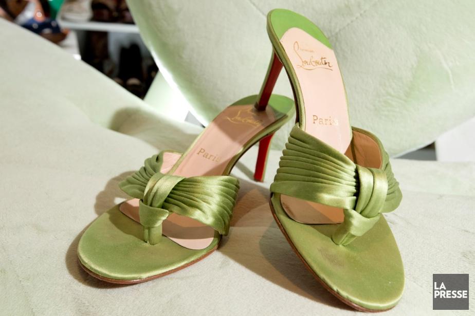 Dans son placard, les chaussures de... (PHOTO ALAIN ROBERGE, ARCHIVES LA PRESSE)