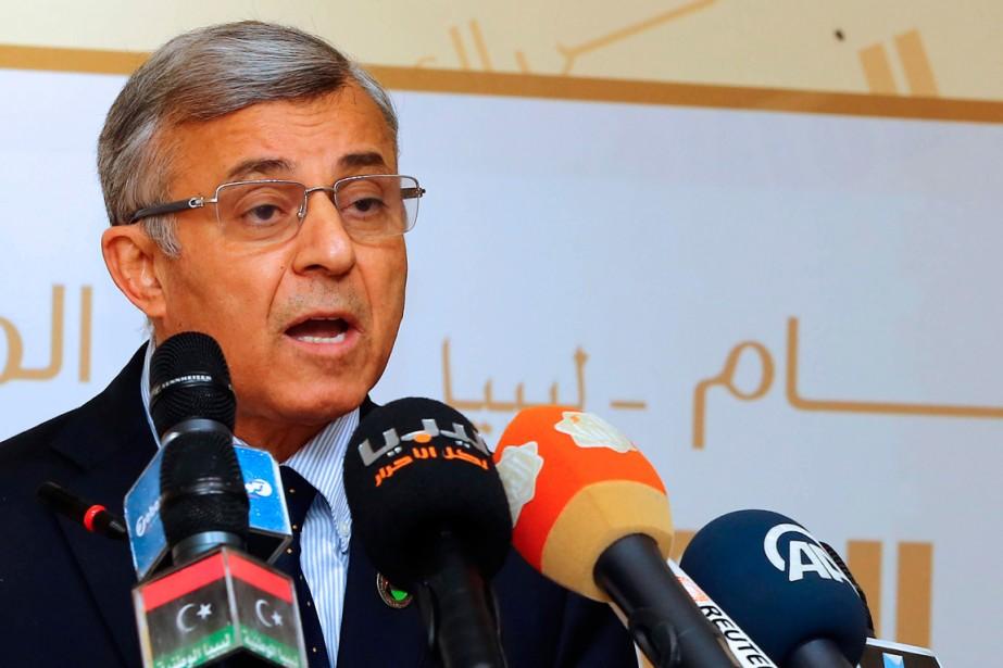 Le président du Congrès général national, Nouri Abou... (PHOTO MAHMUD TURKIA, ARCHIVES AGENCE FRANCE-PRESSE)