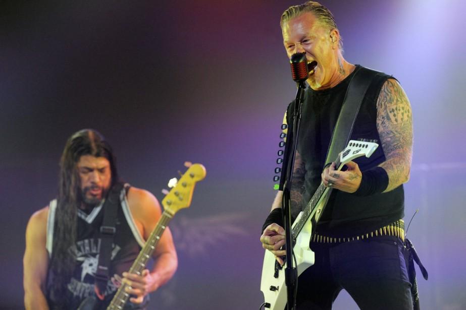 Metallica... (Photo: archives AP)