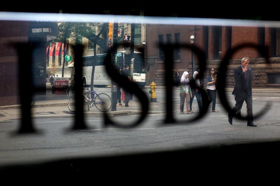 HSBC Canada a expliqué le gain par une... (Photo Brent Lewin, archives Bloomberg)