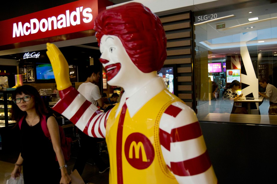 Un restaurant McDonald's à Pékin, en Chine.... (Photo Andy Wong, archives AP)