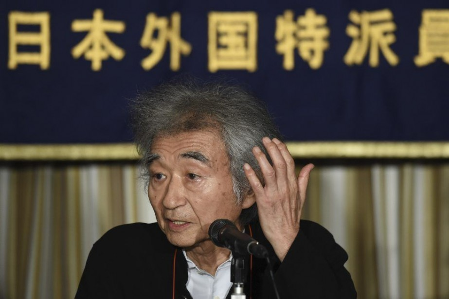 Le maestro Seiji Ozawa est apparu lundi à... (Photo: AFP)