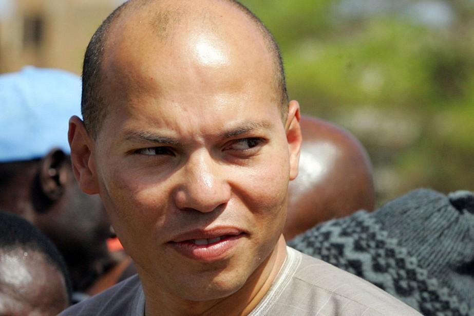 Karim Wade est en détention préventive depuis avril... (PHOTO GEORGES GOBET, ARCHIVES AFP)