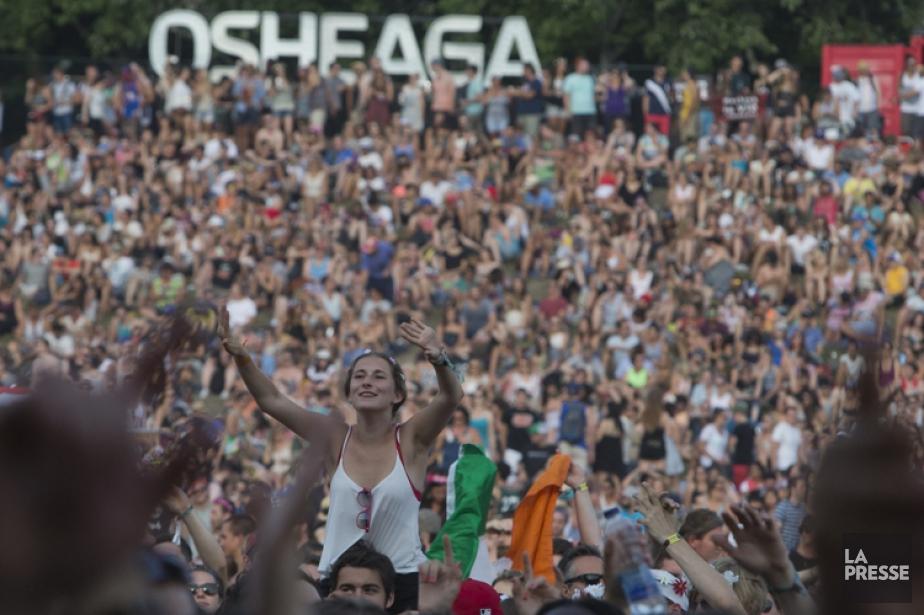 Le festival Osheaga a attiré 145 000 personnes... (PHOTO OLIVIER JEAN, ARCHIVES LA PRESSE)