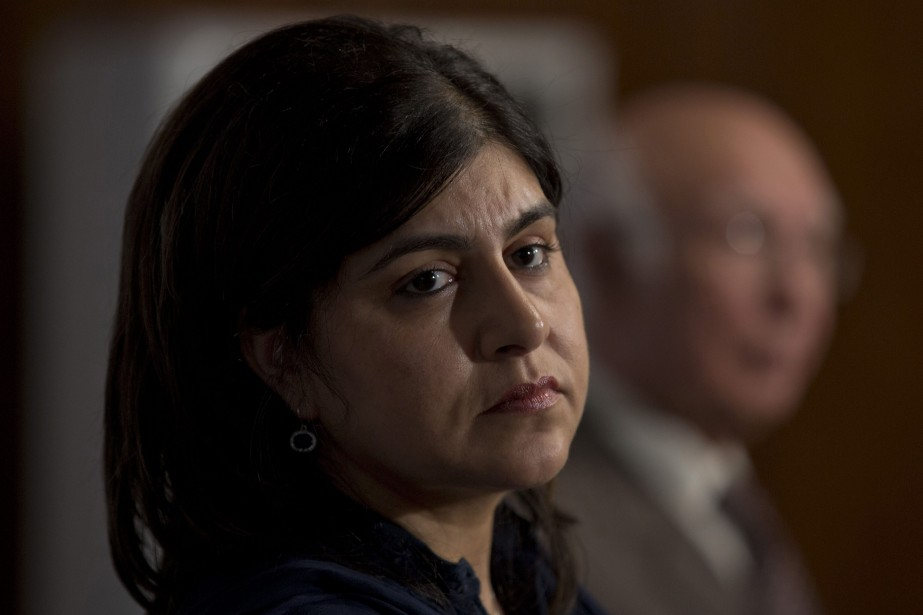 Sayeeda Warsi... (Photo archives AP)