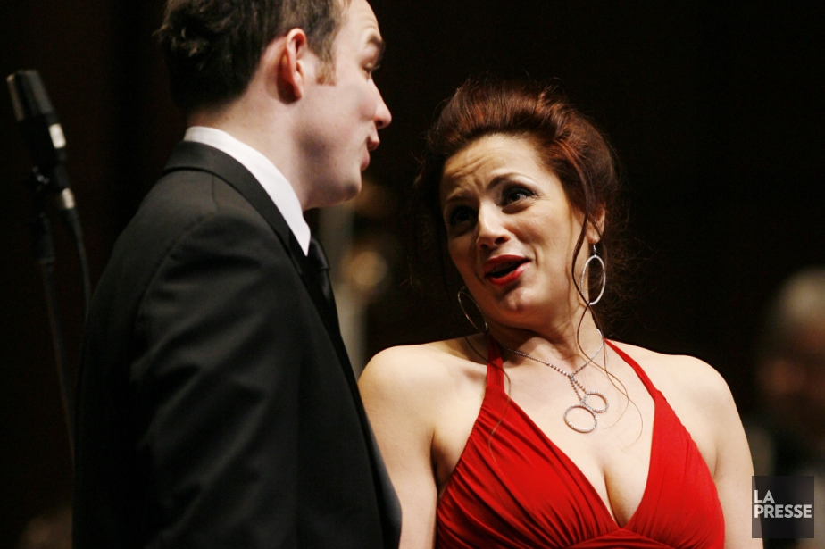 La soprano Gianna Corbisiero sera du concert samedi... (Photo: Robert Skinner, archives La Presse)