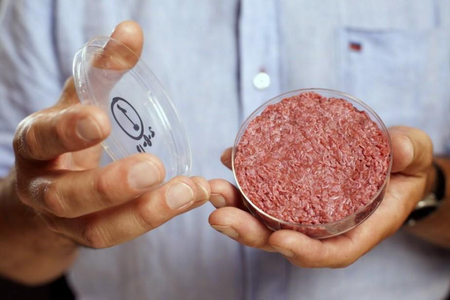Le «Frankenburger», comme il a été surnommé, pesait... (Photo David Parry, REUTERS)