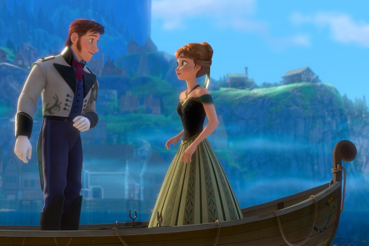 Frozenest le dessin animé Disney ayant généré le... (Photo: AFP)