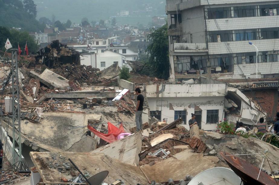 À Longtoushan, agglomération de quelque 50 000 habitants... (Photo AFP)