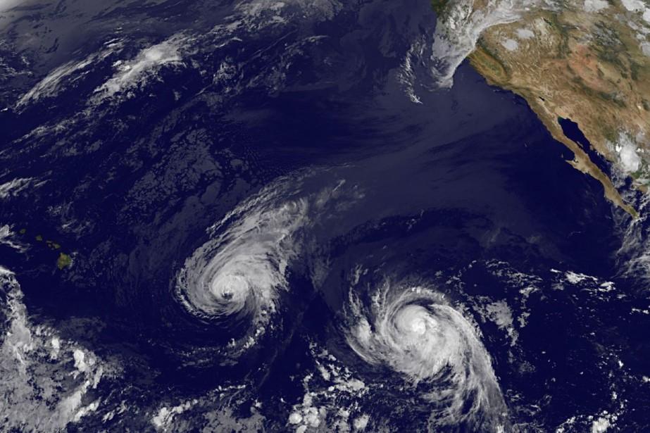 L'ouraganIselledevrait toucher Hawaï jeudi dans la soirée.... (Photo The Associated Press)