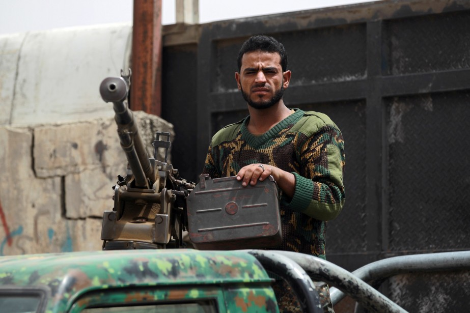 Cinq soldats yéménites ont été tués mercredi dans... (Photo MOHAMMED HUWAIS, AFP)