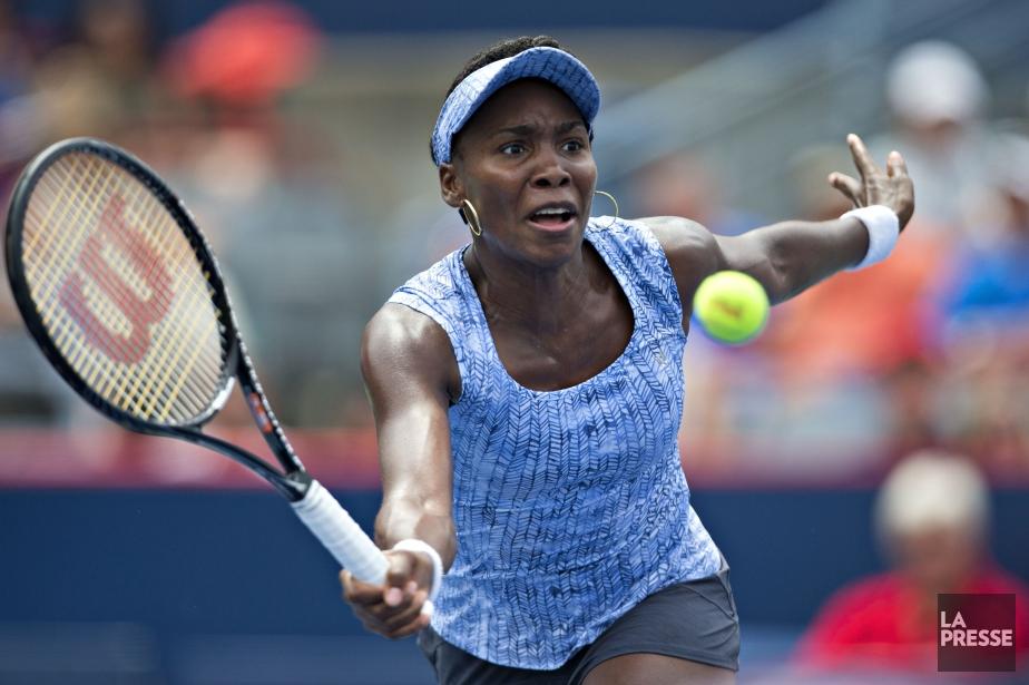 Venus Williams a remporté hier son premier match... (PHOTO OLIVIER JEAN, LA PRESSE)