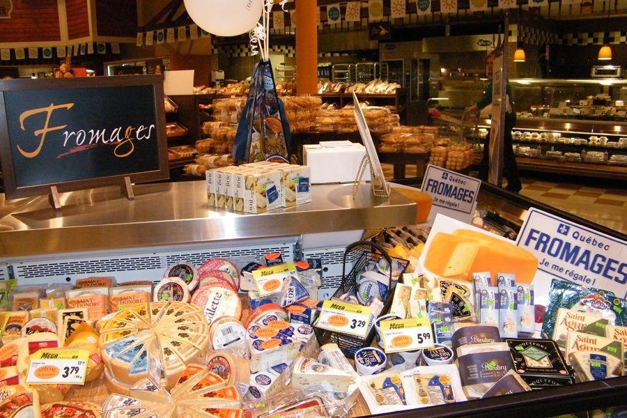 La question du fromage était l'un des principaux... (PHOTO JULIE ROY, COLLABORATION SPÉCIALE)