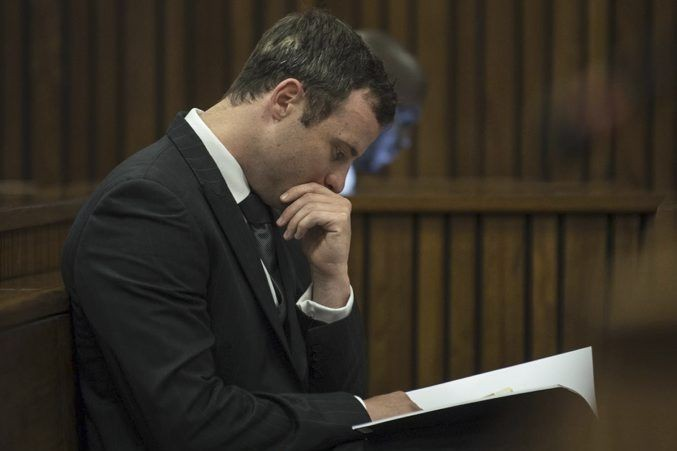 Oscar Pistorius... (PHOTO MUJAHID SAFODIEN, ASSOCIATED PRESS)
