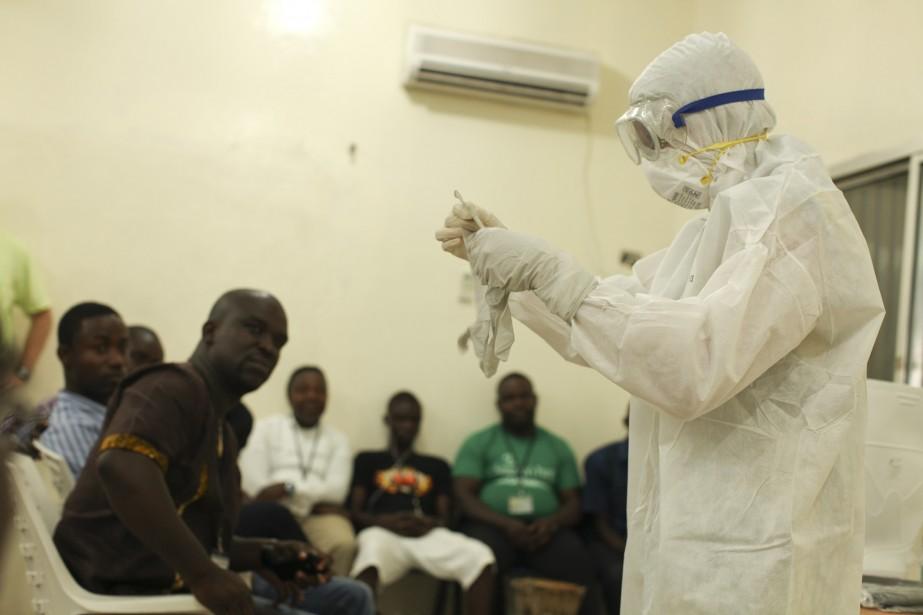 Deux pays en état d'urgence face au virus Ebola, le Liberia et... (PHOTO REUTERS)