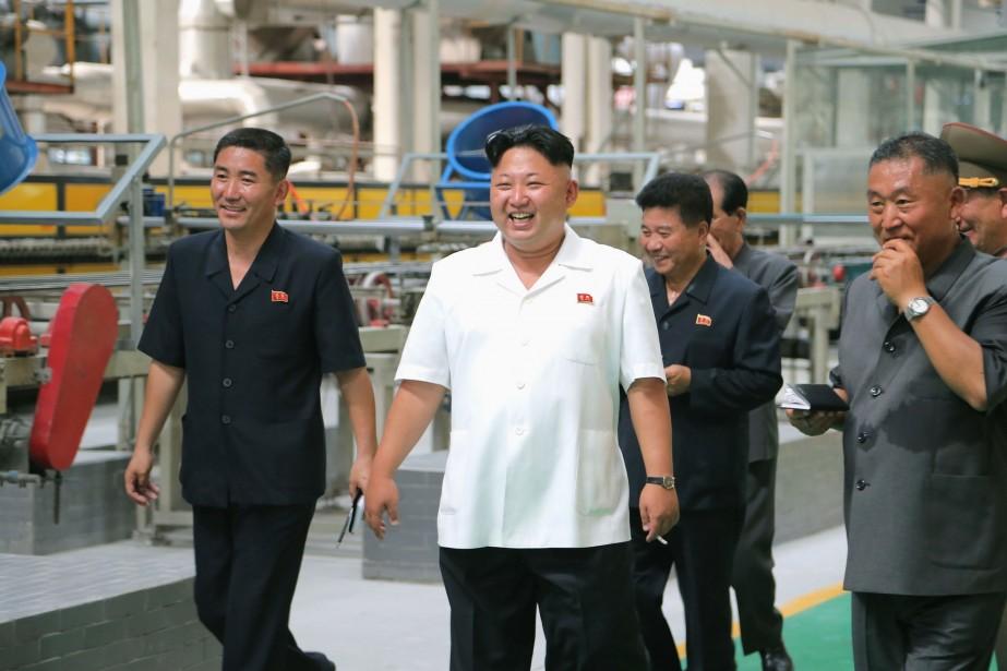 La Corée du Nord a lancé la remise... (Photo REUTERS)