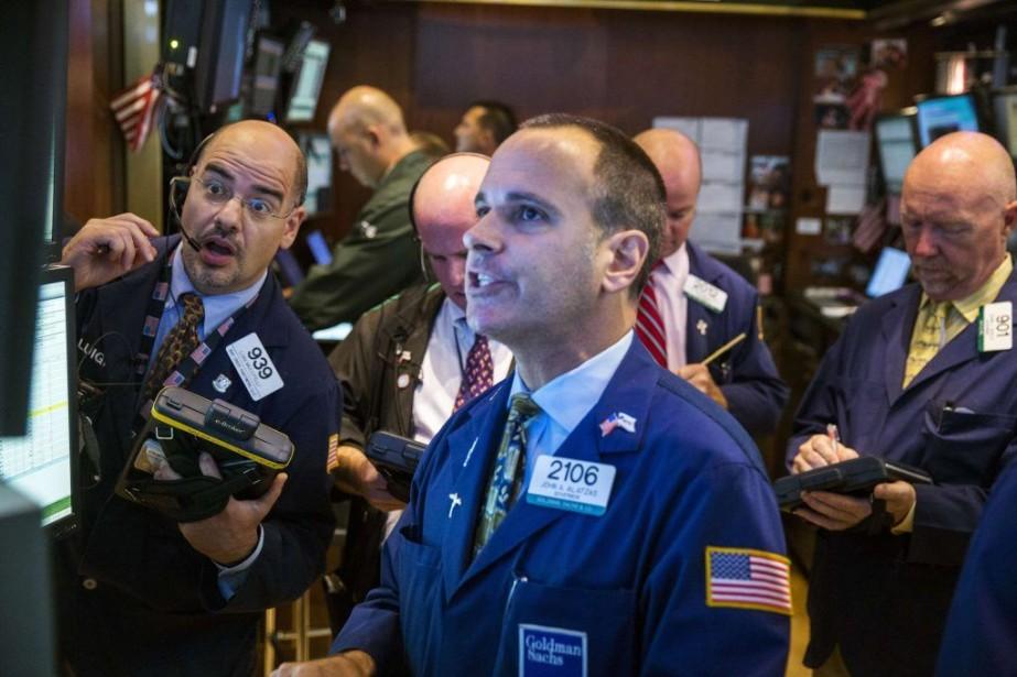 Jeudi, les indices de la place financière new-yorkaise... (PHOTO LUCAS JACKSON, REUTERS)