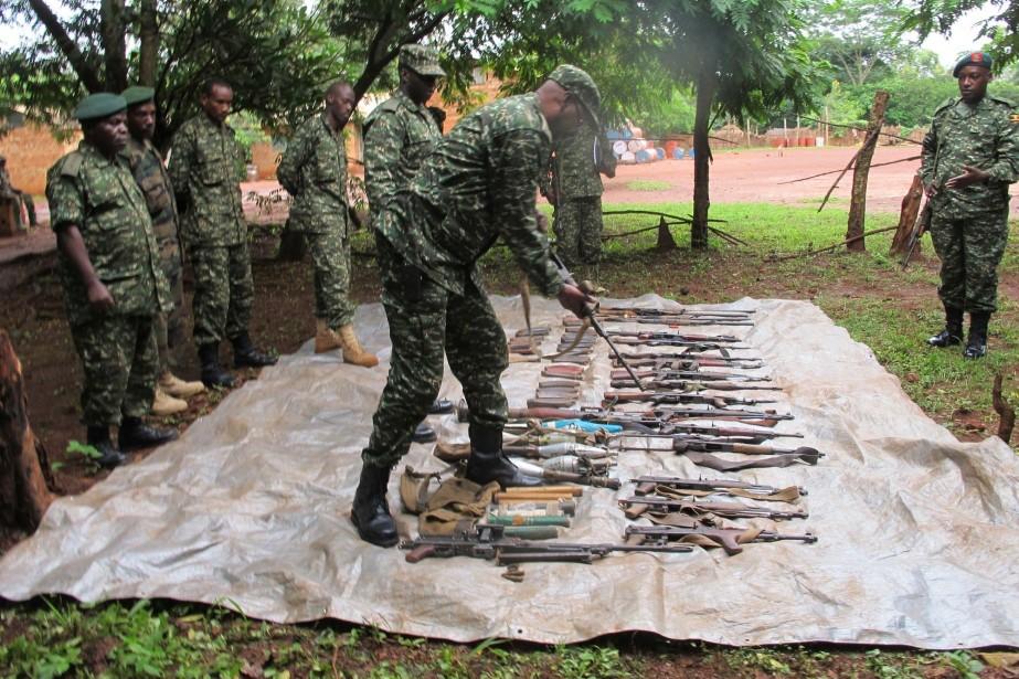 Cet accord de cessez-le-feu est le premier du... (Photo Rodney Muhumuza, AP)