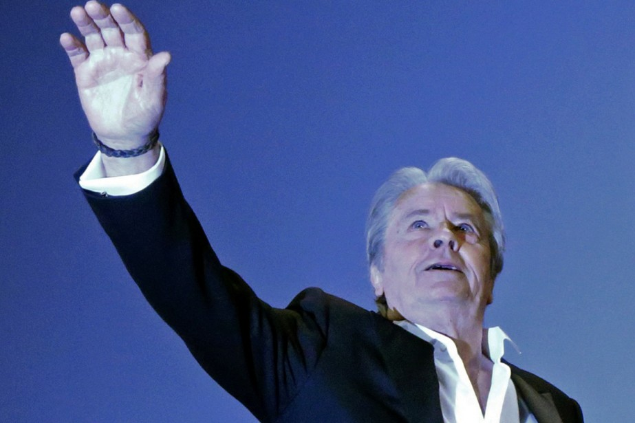 Alain Delon... (Photo: archives Reuters)