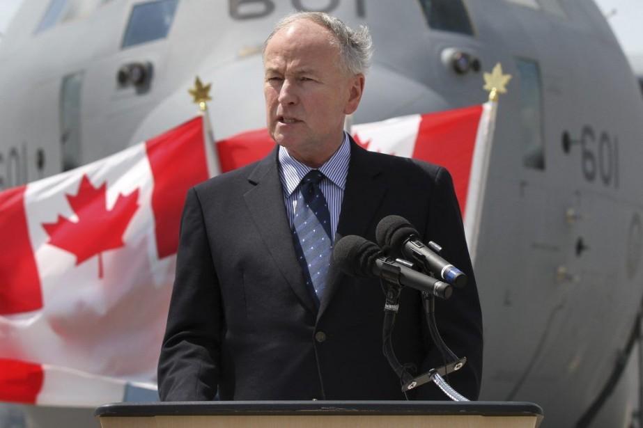 Le ministre de la Défense, Rob Nicholson.... (Photo PC)