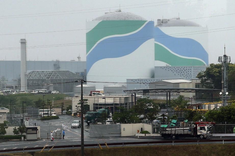 La centrale nucléaire de Sendai, dans le sud-ouest... (Photo AFP)