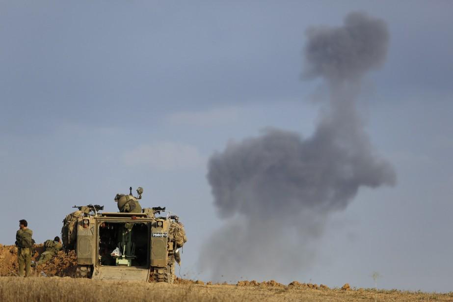 Le coût direct de l'offensive militaire... (PHOTO AMIR COHEN, ARCHIVES REUTERS)