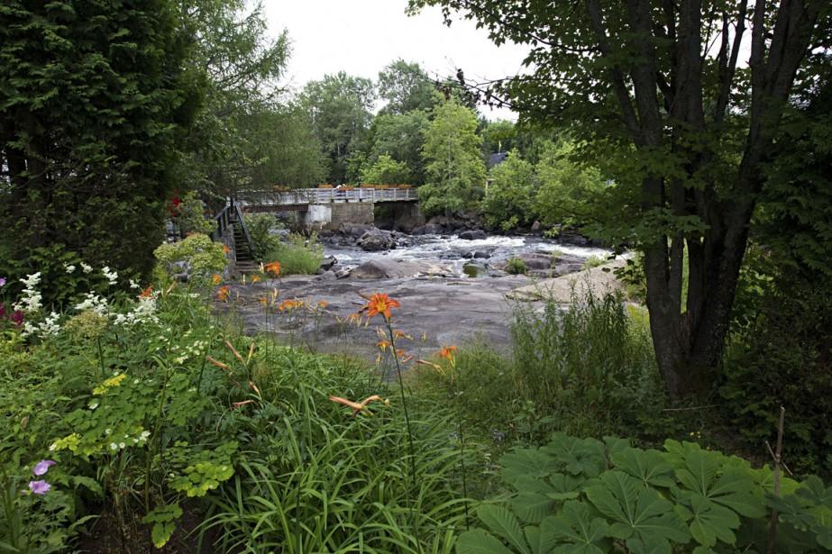 Les activités se multiplient en été à Val-David, saison par excellence pour visiter l'endroit. Sur cette photo, le parc des Amoureux. (Photo Alain Décarie, La Presse)