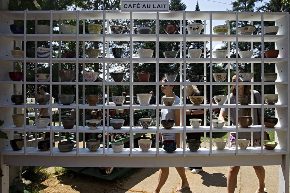 L'événement 1001 Pots est en soi une raison suffisante pour aller à Val-David cet été. (Photo Alain Décarie, La Presse)