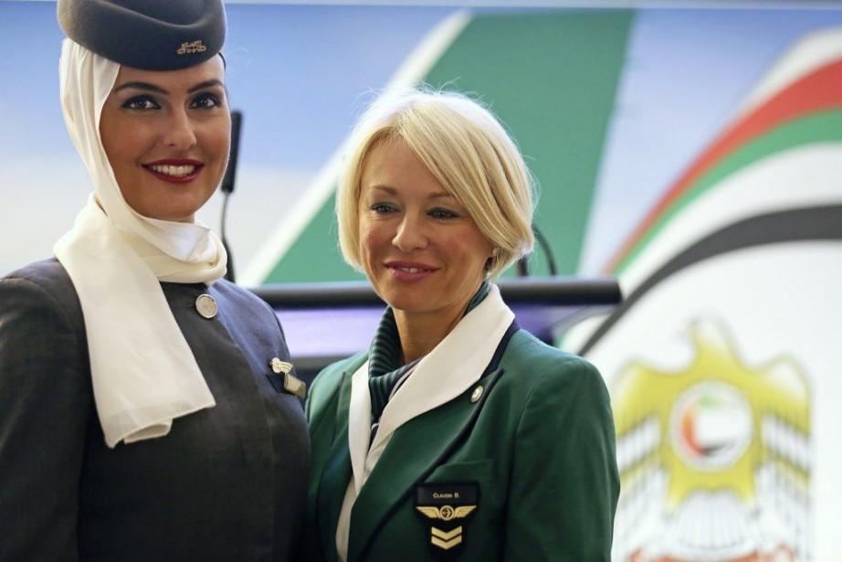 Etihad dit croire en Alitalia, «une grande marque... (PHOTO STEFANO RELLANDINI, REUTERS)