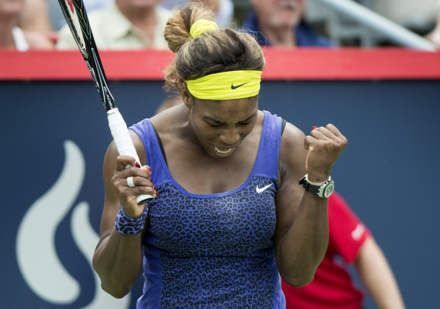 Serena Williams... (Photo Paul Chiasson, La Presse Canadienne)