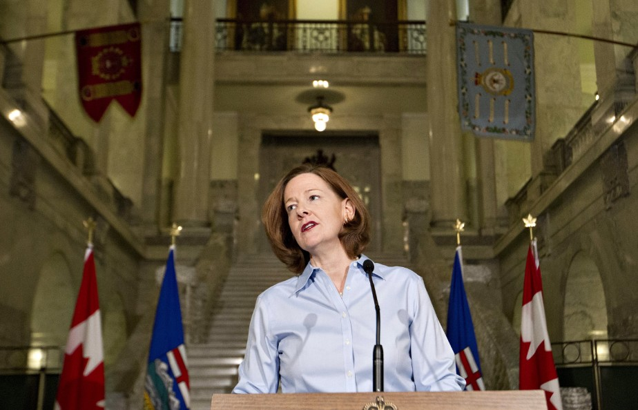 Le cas d'Alison Redford est particulier parce que... (PHOTO JASON FRANSON, ARCHIVES LA PRESSE CANADIENNE)