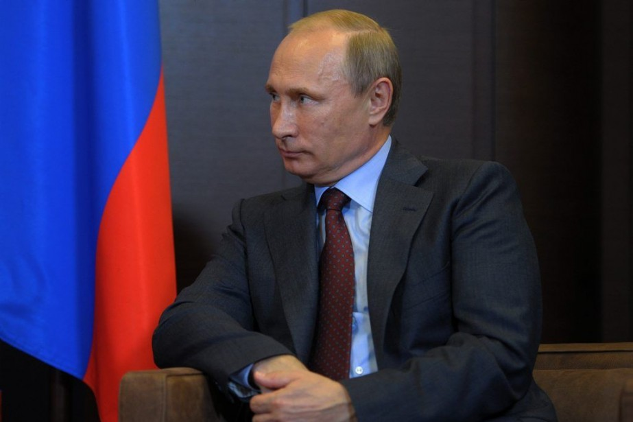 Le président russe Vladimir Poutine.... (PHOTO ALEXEI DRUZHININ, AP)