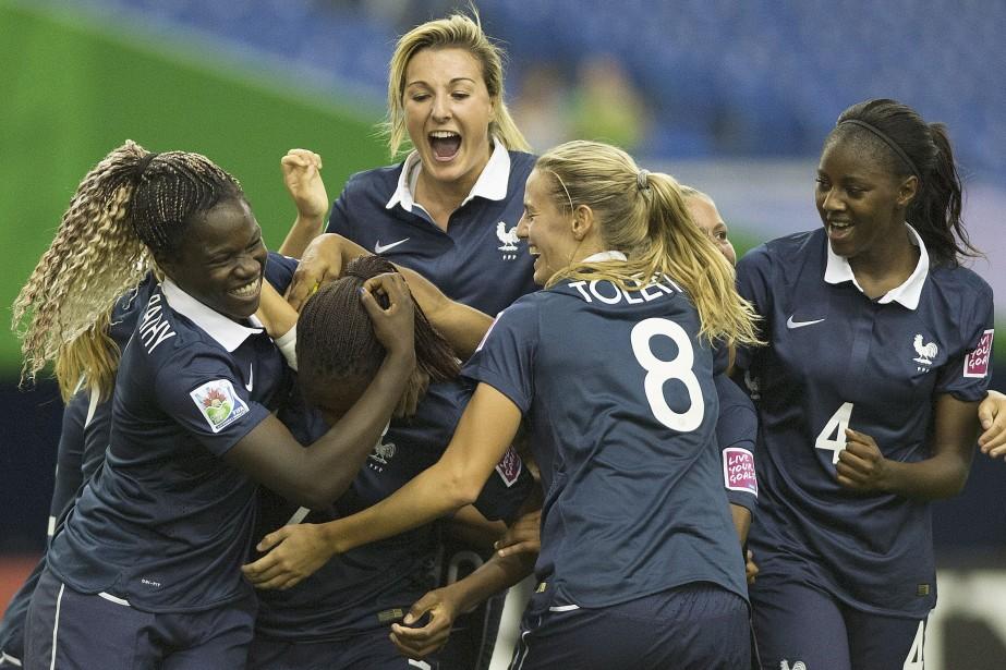 La France l'a emporté 4-0 contre la Nouvelle-Zélande.... (Photo Graham Hughes, La Presse Canadienne)