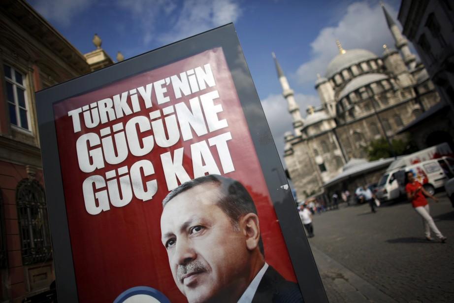 En cas de victoire, Erdogan, 60 ans, rejoindrait... (PHOTO MURAD SEZER, REUTERS)
