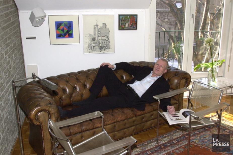 Frédéric Metz en 2003.... (Photo: archives La Presse)