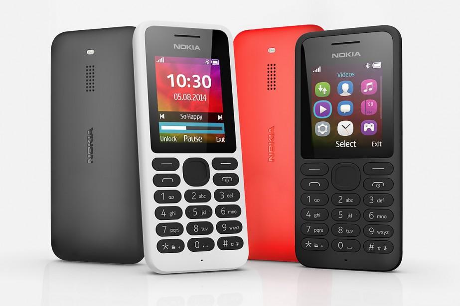 Le Nokia 130 dispose, outre d'un écran de... (Photo fournie par Nokia)