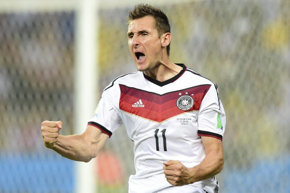 Miroslav Klose... (Archives, AFP)