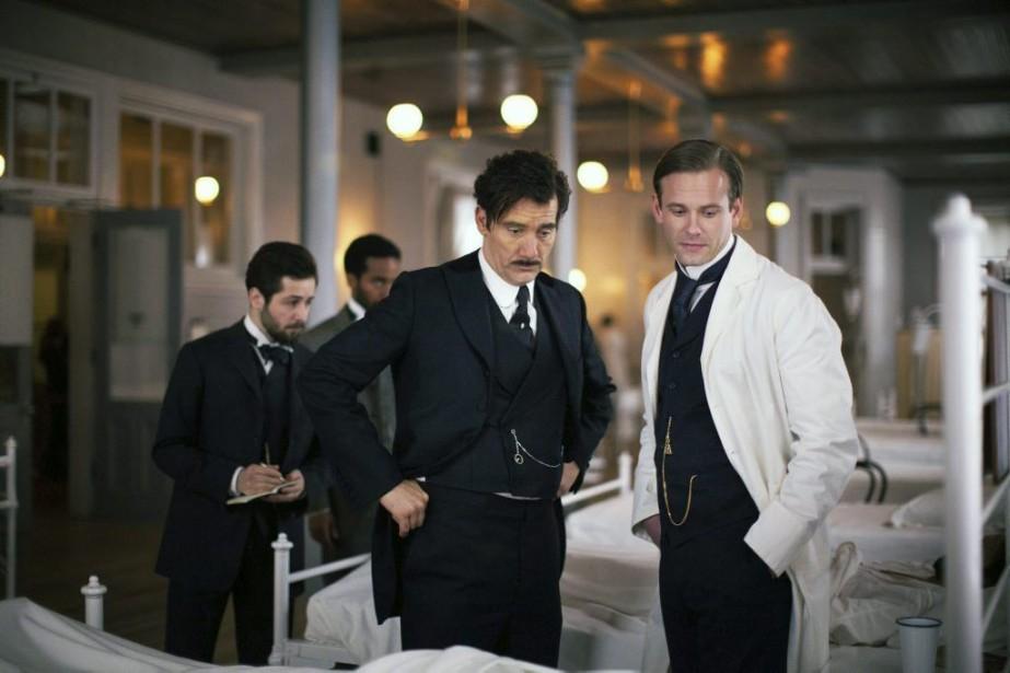 Clive Owen et Eric Johnson dans The Knick.... (Photo: AP)