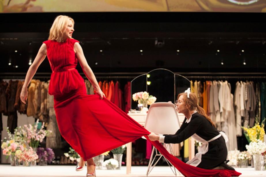Cate Blanchett et Isabelle Huppert se partagent l'affiche... (Photo Lisa Tomasetti, archives)