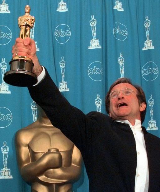 Son rôle depsychologue dans <em>Good Will Hunting</em> lui a valu l'Oscar du meilleur acteur dans un second rôle en 1998. ()