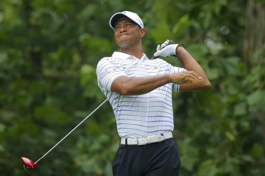 Woods a indiqué dans un communiqué diffusé sur... (Archives Agence France-Presse)