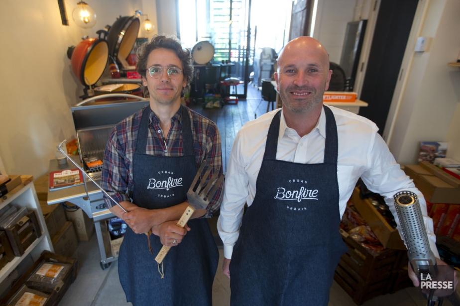 Stefan Marchant et Ryan Bloom, les propriétaires du... (Photo François Roy, La Presse)