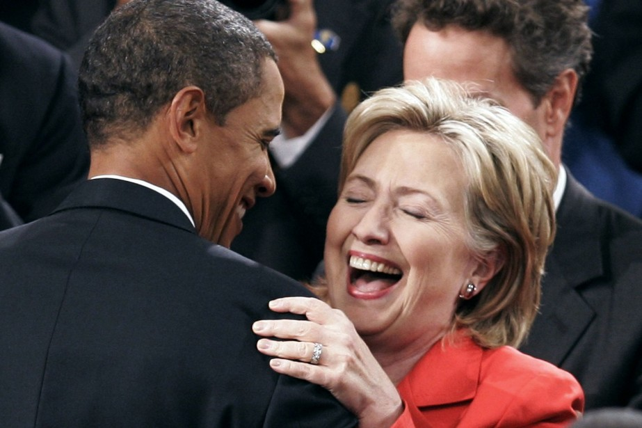 Hillary Clinton, qui a quitté le département d'État... (Photo JOSHUA ROBERTS, Archives Reuters)