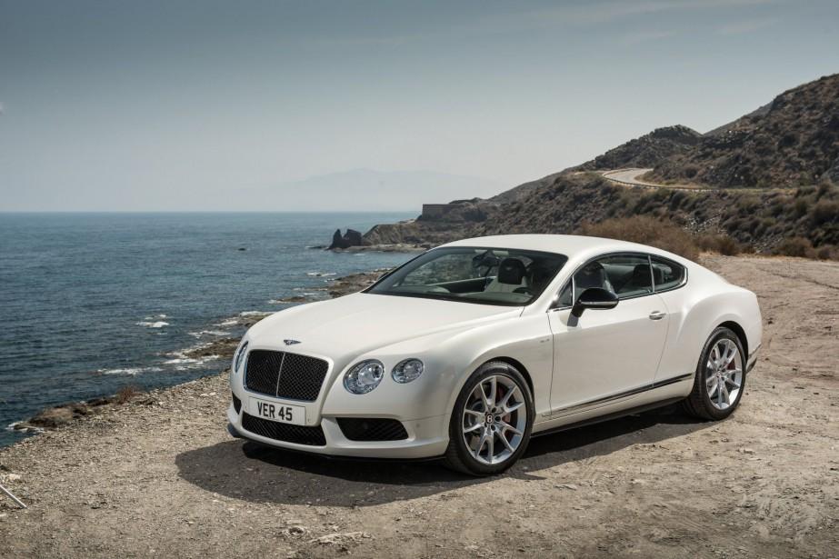 La Bentley Continental GT V8 S... (Photo fournie par Bentley)
