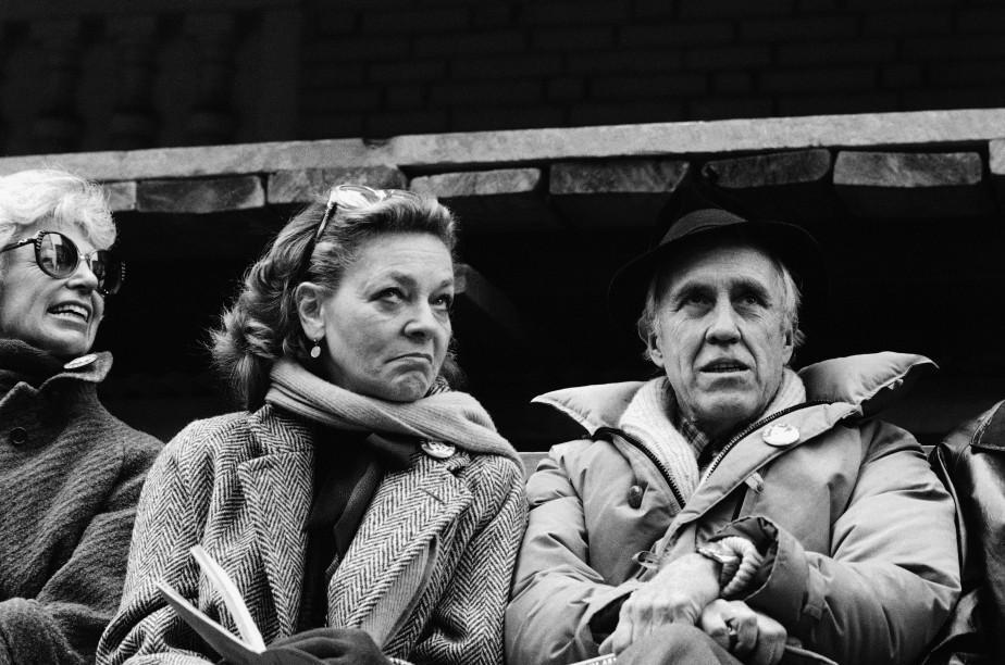 Remariée en 1961, avec l'acteur Jason Robards dont elle a un fils, elle en divorce huit ans plus tard. (AP)