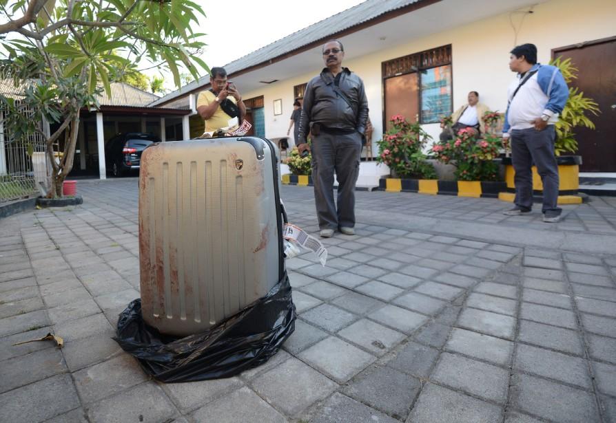 Le corps d'une touriste américaine qui séjournait... (Photo SONNY TUMBELAKA, AFP)