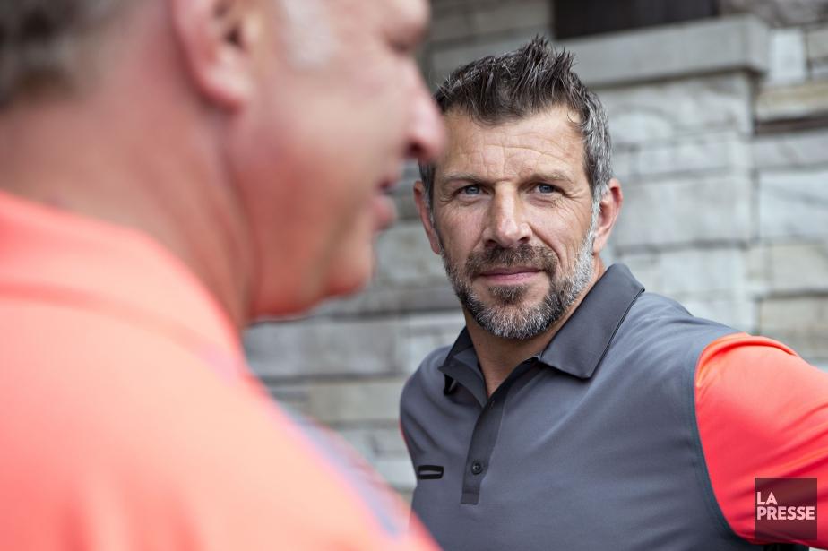 Le directeur général du Canadien, Marc Bergevin... (Photo Olivier Jean, La Presse)