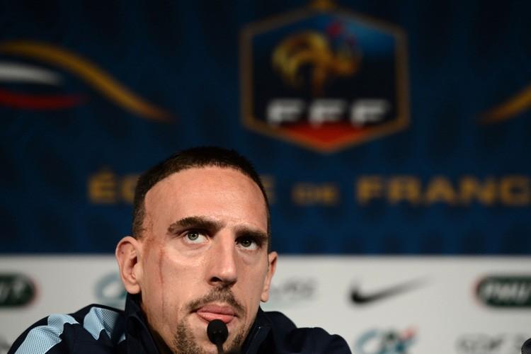 Franck Ribéry... (Photo: AFP)