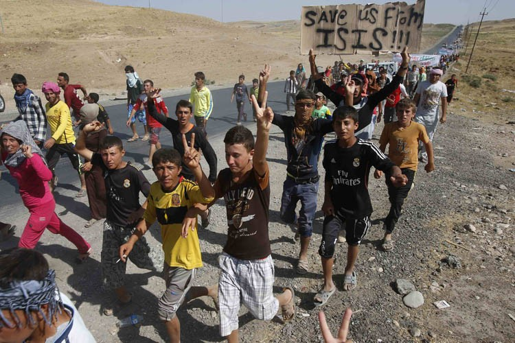 Les Yazidis sont moins nombreux car chaque nuit... (Photo: Reuters)